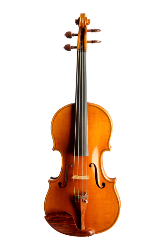 Arts Culture and Entertainment「Violin Isolated on White Background」:スマホ壁紙(14)