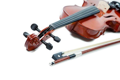 Violin「Violin, isolated on white」:スマホ壁紙(11)