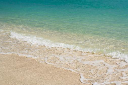 Miami Beach「USA, Florida, South beach, waves washing on beach」:スマホ壁紙(11)