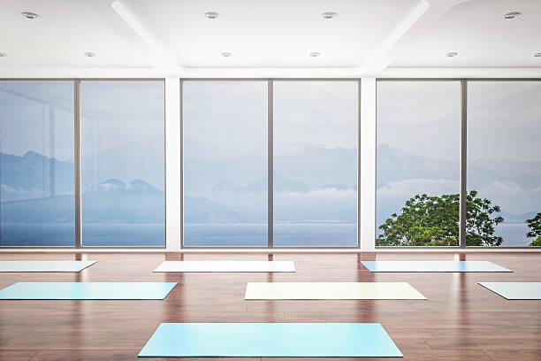 Yoga Class Interior:スマホ壁紙(壁紙.com)