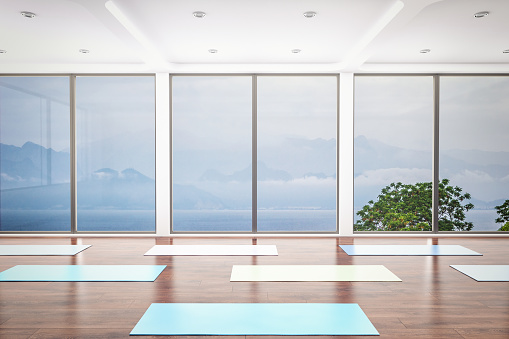 Leisure Facilities「Yoga Class Interior」:スマホ壁紙(13)