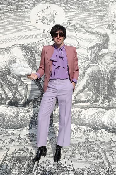 Purple Pants「Gucci - Arrivals - Milan Fashion Week Autumn/Winter 2019/20」:写真・画像(5)[壁紙.com]