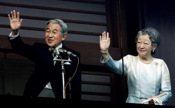 Emperor Akihito「Japanese Imperial Family Celebrates New Year」:写真・画像(7)[壁紙.com]