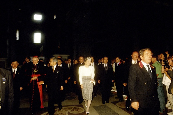 Empress Michiko「Emperors Of Japan Visit Vatican」:写真・画像(18)[壁紙.com]