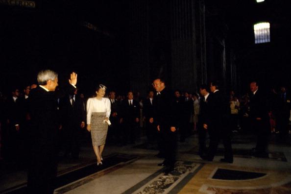 Empress Michiko「Emperors Of Japan Visit Vatican」:写真・画像(5)[壁紙.com]