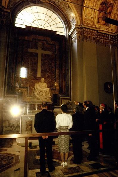 Empress Michiko「Emperors Of Japan Visit Vatican」:写真・画像(12)[壁紙.com]