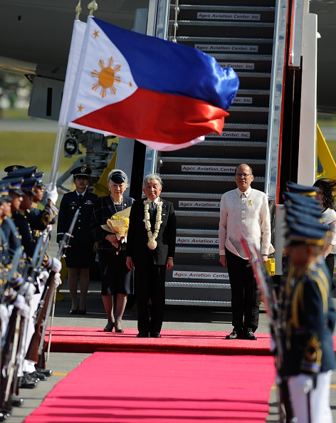 Emperor Akihito「Japan's Emperor And Empress State Visit To Philippines」:写真・画像(19)[壁紙.com]