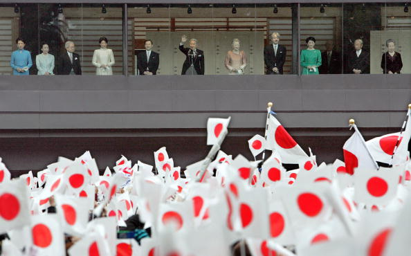 Imperial Palace - Tokyo「Japanese Imperial Family Celebrate New Year」:写真・画像(13)[壁紙.com]