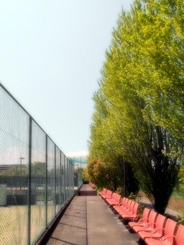 テニス「Tennis Court and Seats」:スマホ壁紙(13)