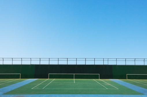 Kanagawa Prefecture「A tennis court」:スマホ壁紙(17)