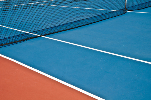 テニス「テニスコートの表面」:スマホ壁紙(7)
