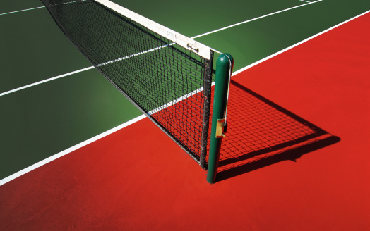 テニス「テニスコート」:スマホ壁紙(14)