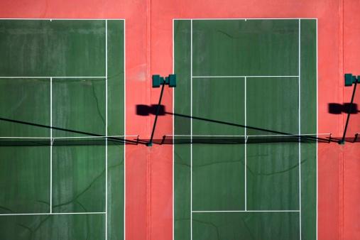 テニス「Tennis courts」:スマホ壁紙(14)
