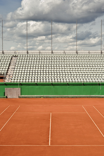 Pole「Tennis Court」:スマホ壁紙(2)
