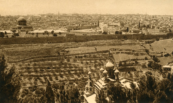High Angle View「Jerusalem From The Mount Of Olives」:写真・画像(4)[壁紙.com]