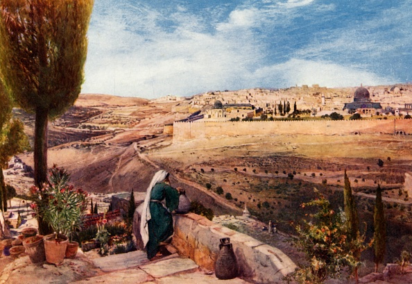 Tradition「Jerusalem From  The Mount Of Olives Where Christ Wept Over The City」:写真・画像(19)[壁紙.com]