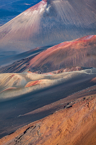 Haleakala Crater「haleakala national park, maui island, hawaii islands」:スマホ壁紙(2)