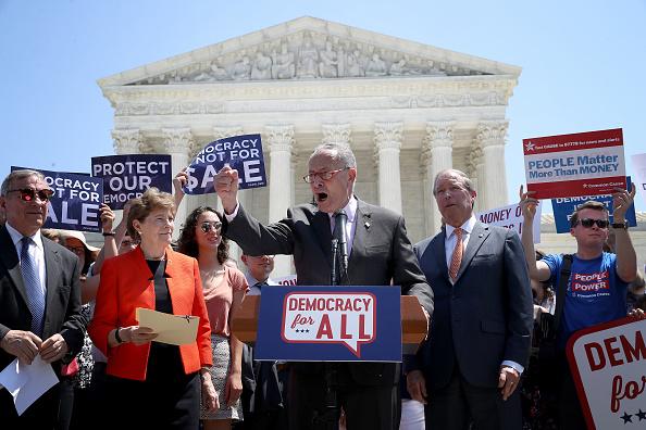 Democratic Party - USA「Sen. Schumer,  Sen. Shaheen, And Senate Democrats Unveil Constitutional Amendment To Overturn Citizens United」:写真・画像(17)[壁紙.com]