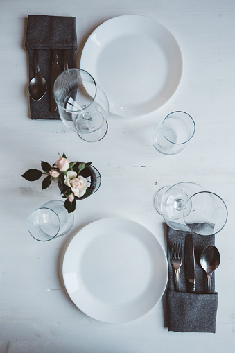 Place Setting「Laid table for two」:スマホ壁紙(4)