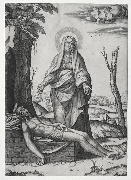 30-34 Years「The Pieta. Creator: Marcantonio Raimondi (Italian」:写真・画像(15)[壁紙.com]