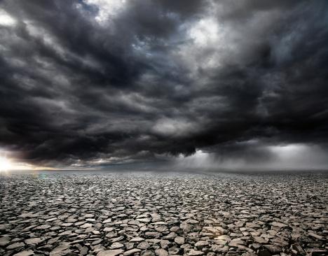 Overcast「Stormy Rocky Background」:スマホ壁紙(9)
