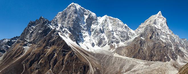 Khumbu「Mount Taboche and Mount Cholatse」:スマホ壁紙(6)