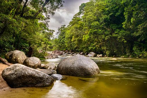 Queensland「Mossman Gorge, Daintree National Park, Queensland, Australia」:スマホ壁紙(5)