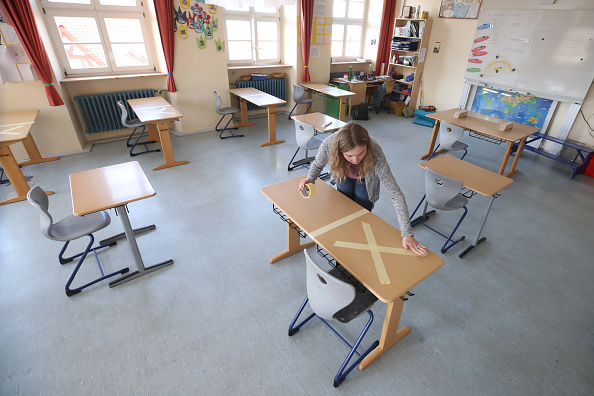 Germany「Schools Prepare To Reopen As Coronavirus Restrictions Ease」:写真・画像(18)[壁紙.com]