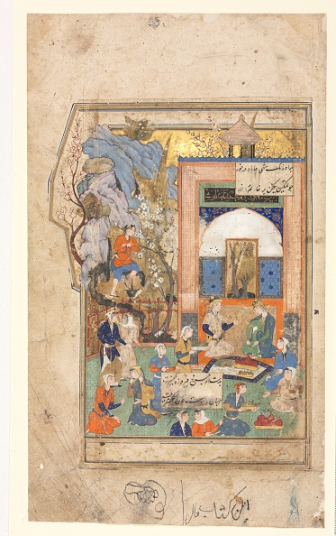 Manuscript「Yusuf And Zulaykha (Recto); Text Page」:写真・画像(14)[壁紙.com]