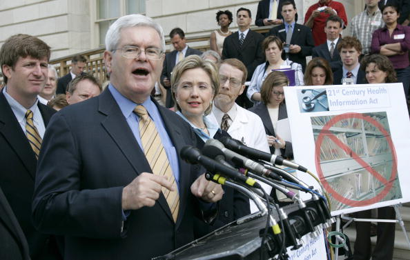 Speaker of the House「Patrick Kennedy And Newt Gingrich Address Health Care Reform」:写真・画像(11)[壁紙.com]