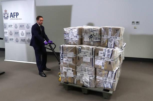 オーストラリア「Australian Federal Police Display 300kg Seized Cocaine」:写真・画像(17)[壁紙.com]