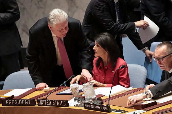 United Nations Building「United Nations Security Council Meets To Discuss Recent U.S. Airstrikes In Syria」:写真・画像(13)[壁紙.com]