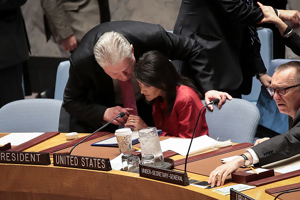 United Nations Building「United Nations Security Council Meets To Discuss Recent U.S. Airstrikes In Syria」:写真・画像(7)[壁紙.com]