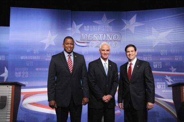 Florida - US State「Crist, Meek, And Rubio Take Part In Florida's Senatorial Debate」:写真・画像(8)[壁紙.com]