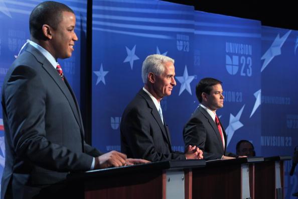 Florida - US State「Crist, Meek, And Rubio Take Part In Florida's Senatorial Debate」:写真・画像(5)[壁紙.com]