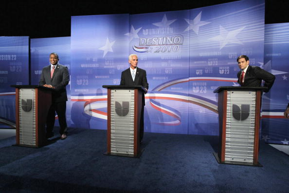 Florida - US State「Crist, Meek, And Rubio Take Part In Florida's Senatorial Debate」:写真・画像(10)[壁紙.com]