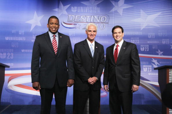 Speaker of the House「Crist, Meek, And Rubio Take Part In Florida's Senatorial Debate」:写真・画像(12)[壁紙.com]