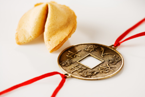 Good luck「Fortune cookie and good luck charm.」:スマホ壁紙(0)