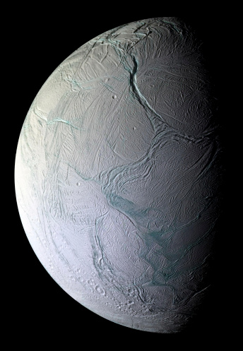 Moon「Saturn's moon Enceladus.」:スマホ壁紙(19)