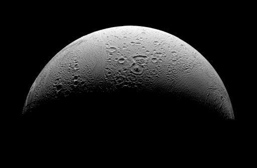 Tectonic「Saturn's moon Enceladus.」:スマホ壁紙(19)