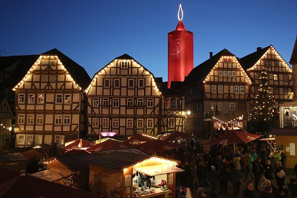 Christmas Market「Traditional Christmas Market In Schlitz」:写真・画像(10)[壁紙.com]