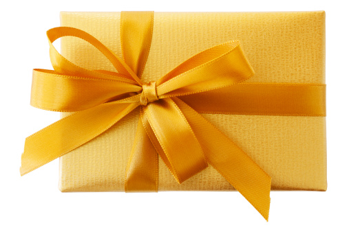 Birthday Present「Golden Gift Box」:スマホ壁紙(6)