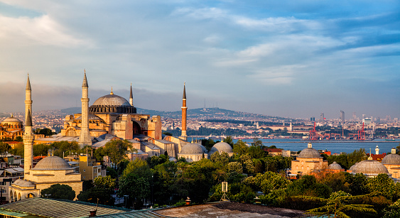 Turkey - Middle East「Hagia Sophia in Istanbul, Turkey」:スマホ壁紙(18)