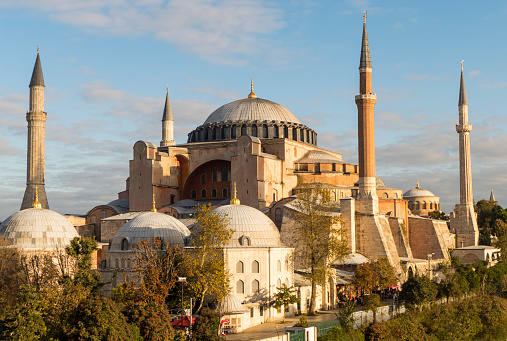 Turkey - Middle East「Hagia Sophia in Istanbul Turkey.」:スマホ壁紙(13)