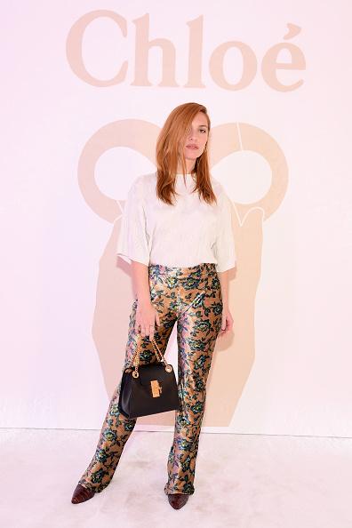 Monogram「Chloe : Front Row - Paris Fashion Week Womenswear Fall/Winter 2019/2020」:写真・画像(14)[壁紙.com]