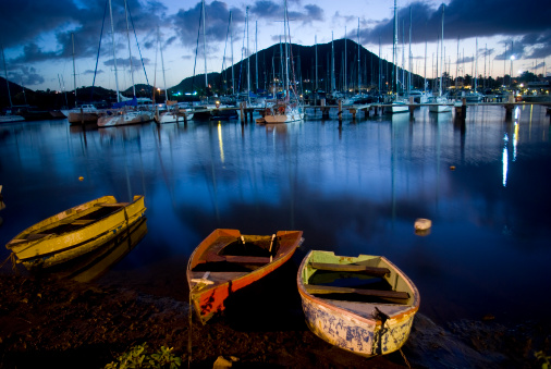 Eco Tourism「breathatking scenic Rodney Bay marina at evening」:スマホ壁紙(9)
