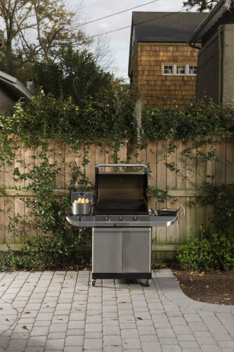 Barbecue Grill「Outdoor barbecue grill」:スマホ壁紙(11)