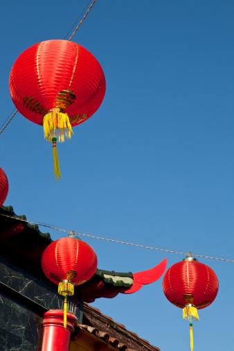 Chinese Lantern「Lanterns in Chinatown」:スマホ壁紙(18)