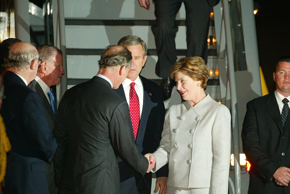 US President「President Bush At Heathrow」:写真・画像(18)[壁紙.com]