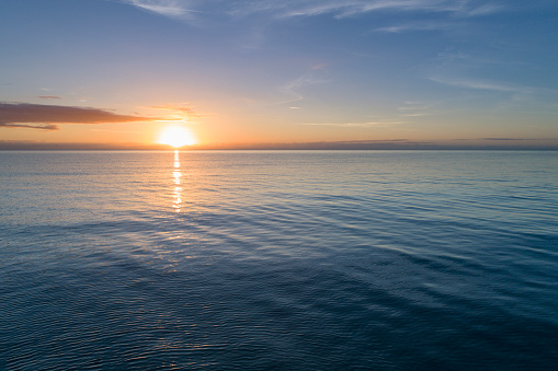 Rippled「Sea at sunset」:スマホ壁紙(10)